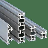 Perfil de alumínio e transportadores